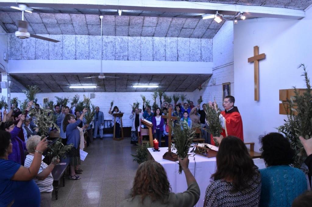 Domingo de Ramos en Capilla San Carlos Borromeo – Macul