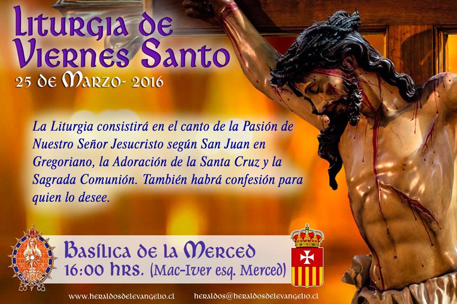 Liturgia de Viernes Santo