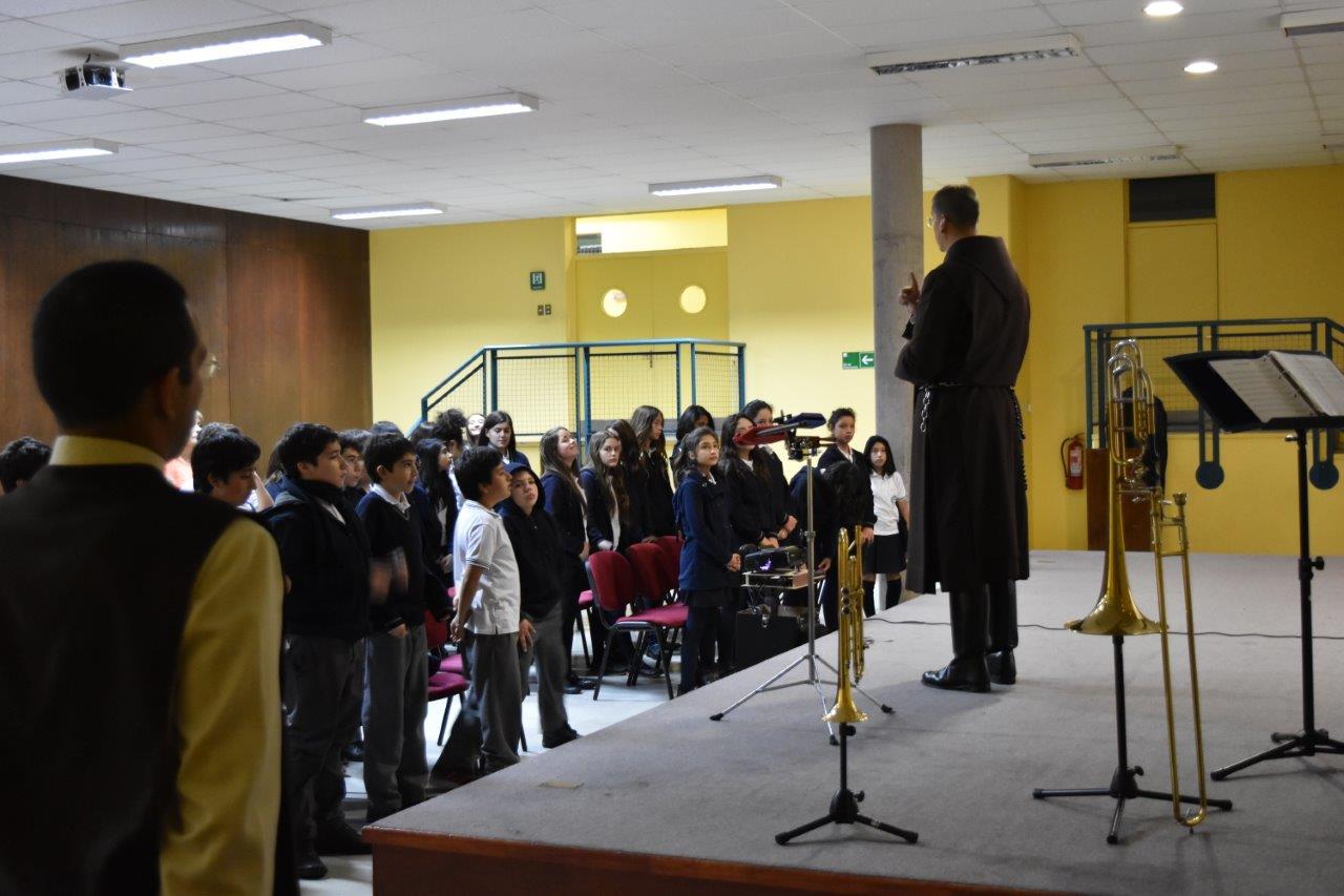 Visita al Colegio Nuestra Señora del Rosario