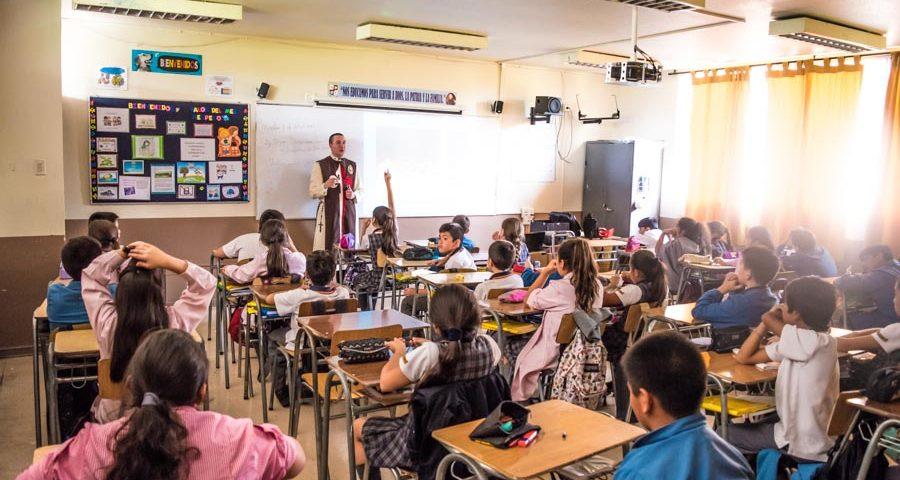 Visita al Colegio Eleuterio Ramirez Molina