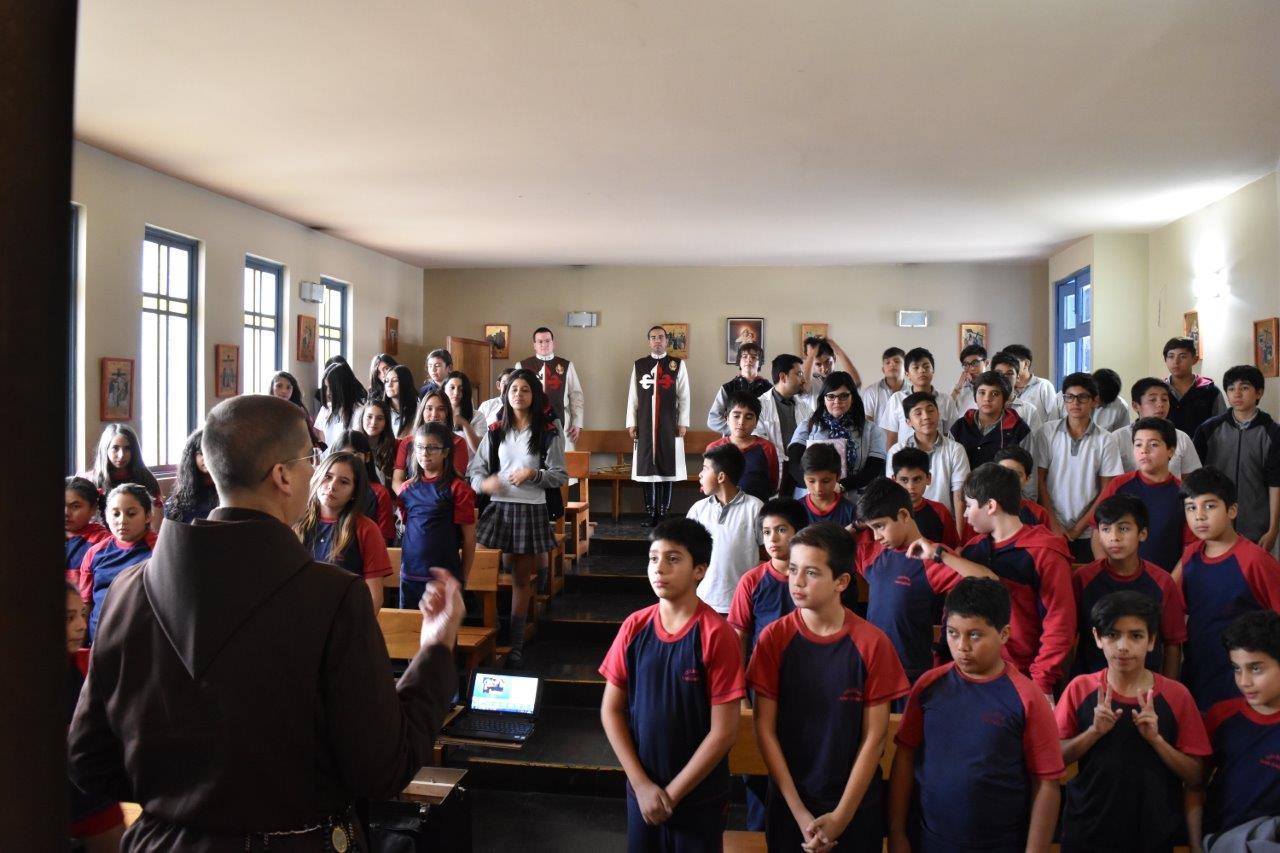 Visita al Colegio San Damián en la Florida